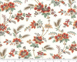 Purebred - Floral Maiden Natural White by Erin Michael from Moda Fabrics