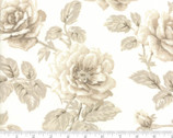 Regency Blues - Roses Natural Tonal Sand by Christopher Wilson Tate from Moda Fabrics