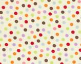 Funky Monkey - Dots Cream by Erin Michael from Moda Fabrics