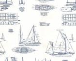 Passport - Ships Sail Natural by 3 Sisters from Moda Fabrics