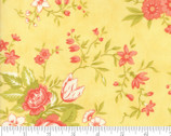Ella Ollie - Flower Daisy Yellow by Fig Tree from Moda Fabrics