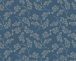 Farmhouse - Floral Blue from 3 Wishes Fabric