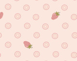 Prairie Sisters - Liza Strawberry Pink from Poppie Cotton Fabric