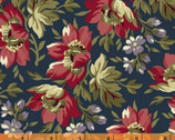 Clayton - Floral Navy by Nancy Gere from Windham Fabrics