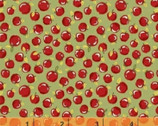 Little Red Riding Hood - Apples Dusty Green by Whistler Studios from Windham Fabrics