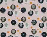 Day Dreams - Sheep Pink from Cosmo Fabric