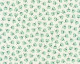 Arctic - Flower Toss Desert Green by Elizabeth Hartman from Robert Kaufman Fabric
