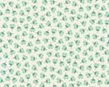 Arctic - Flower Toss Desert Green by Elizabeth Hartman from Robert Kaufman Fabric
