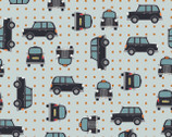 City Nights METALLIC - Black Cab Copper from Lewis and Irene Fabric