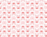 DoLittles FLANNEL - Pigs Pink from Cloud 9 Fabrics