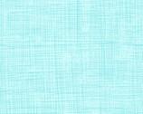 Jungle Fever - Crosshatch Texture Aqua by Rebecca Jones from Clothworks Fabrics