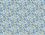 Abigail - Flowers Blue by Dover Hill from Benartex Fabric