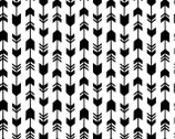 Meow - Arrows Black White from Camelot Fabrics