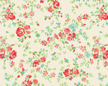 The Elm Park Collection - Floral Toss Cream from Camelot Fabrics