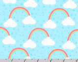 Chasing Rainbows - Cloud Blue by Andie Hanna from Robert Kaufman Fabric