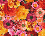 Wild Garden - Packed Flowers from Timeless Treasures Fabrics