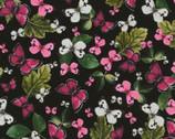 Wild Garden - Flower Butterflies from Timeless Treasures Fabrics