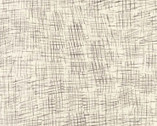 Chalk and Charcoal - Texture Crosshatch Snow by Jennifer Sampou from Robert Kaufman Fabric
