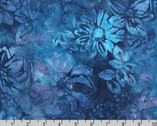 Artisan Batiks Gazebo 4 - Floral Violet by Lunn Studios from Robert Kaufman Fabric