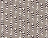 Arctic - Feathers Smoke by Elizabeth Hartman from Robert Kaufman Fabric
