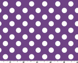Broomhilda's Bakery - Purple White Dots from Maywood Studio Fabric