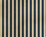 St. Louis Collection - Stripes Dark Blue from Washington Street Studio Fabric