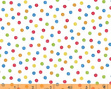 The Big Dig - Dots White by Whistler Studios from Windham Fabrics