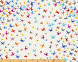Kaleidoscope - Butterflies Scattered by Whistler Studios from Windham Fabrics