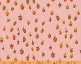 Trixie - Field Strawberries Blush Pink by Heather Ross from Windham Fabrics