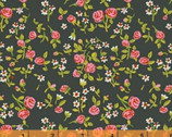 Trixie - Floral Rose Dark by Heather Ross from Windham Fabrics