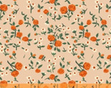 Trixie - Floral Rose Peachy Pink by Heather Ross from Windham Fabrics