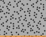 Cat Happy - Little Paws Gray by Whistler Studios from Windham Fabrics