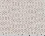 Winter Shimmer - Circle Dots Winter Tan by Jennifer Sampou from Robert Kaufman Fabric