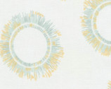 Winter Shimmer - Circle Burst Fog by Jennifer Sampou from Robert Kaufman Fabric