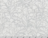 Winter Shimmer - Branches Winter by Jennifer Sampou from Robert Kaufman Fabric