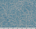 Winter Shimmer - Branches Starry Night Blue by Jennifer Sampou from Robert Kaufman Fabric