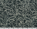 Winter Shimmer - Branches Pine Navy by Jennifer Sampou from Robert Kaufman Fabric