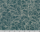 Winter Shimmer - Branches Evergreen Teal by Jennifer Sampou from Robert Kaufman Fabric