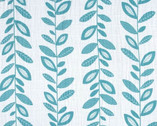 """Embrace - Stem to Stem Teal - DOUBLE GAUZE 49"""" Wide from Shannon Fabrics"""