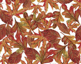Pumpkin Spice - Leafs from Quilter's Palette Fabric