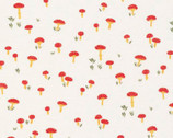 Lush BATISTE - Mushrooms by Juliet Meeks from Cloud 9 Fabrics