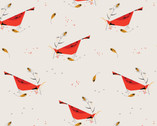 Holiday - Berry Feast by Charley Harper from Birch Organic Fabrics