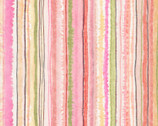Floral Study - Stripe Multi by Alice Collection from Timeless Treasures Fabrics