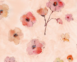 Floral Study - Floral Pink by Alice Collection from Timeless Treasures Fabrics