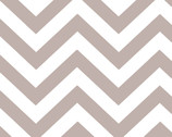 Half Moon Modern - Zig Zags Tan Gray from Moda Fabrics