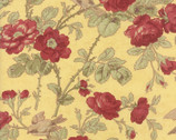 3 Sisters Favorites - Floral Lemon Yellow by 3 Sisters from Moda Fabrics