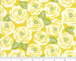 Lazy Days - Roses Floral Citrus Yellow by Gina Martin from Moda Fabrics