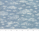 Weather Permitting - Forecast Clouds Blue by Janet Clare from Moda Fabrics