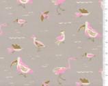 Yucatan - Birds Grey by Annie Brady from Moda Fabrics