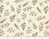 Le Pavot - Sprig Berry Cloud Natural by Sandy Gervais from Moda Fabrics